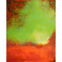Contemporary Tonalist Abstract Painting by Lila Rose Kole