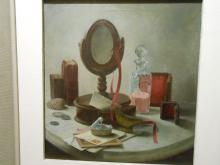 1970's Realism Oil Still Life Signed