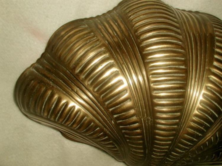 Chapman Wall Light Brass Shell Quality