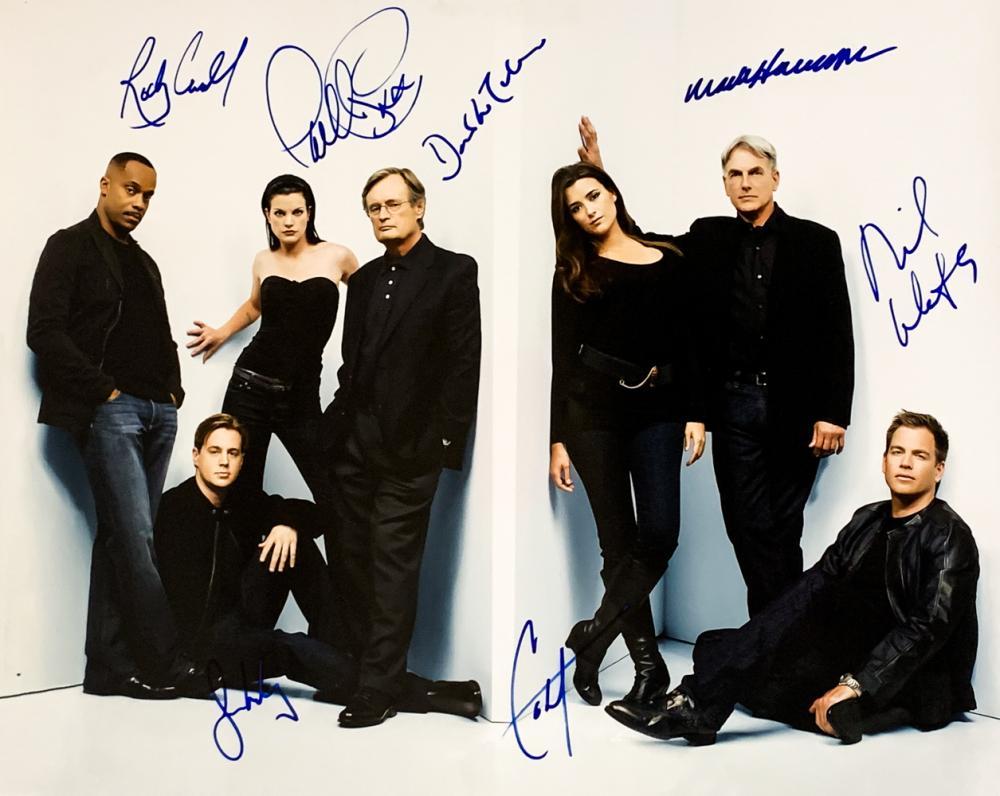 DW NCIS Cast Autograph Signed 6x4 Photo