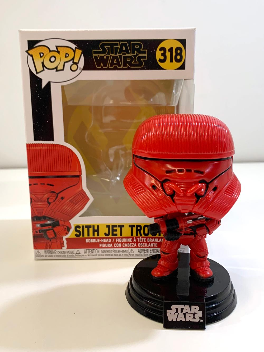 Funko Pop Television Star Wars The Rise Of Skywalker Si