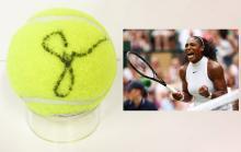 SERENA WILLIAMS - Tennis Superstar signed Tennis Ball