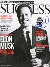 ELON MUSK - Tesla/SpaceX Founder signed
