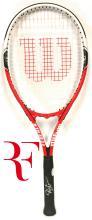 ROGER FEDERER - Tennis Superstar signed Wilson Racquet