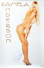 PAMELA ANDERSON - 'Centerfold' Legend sexy signed Pin-Up Poster