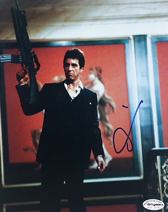 Scarface Say Hello To My Little Friend Al Pacino Signed Photo
