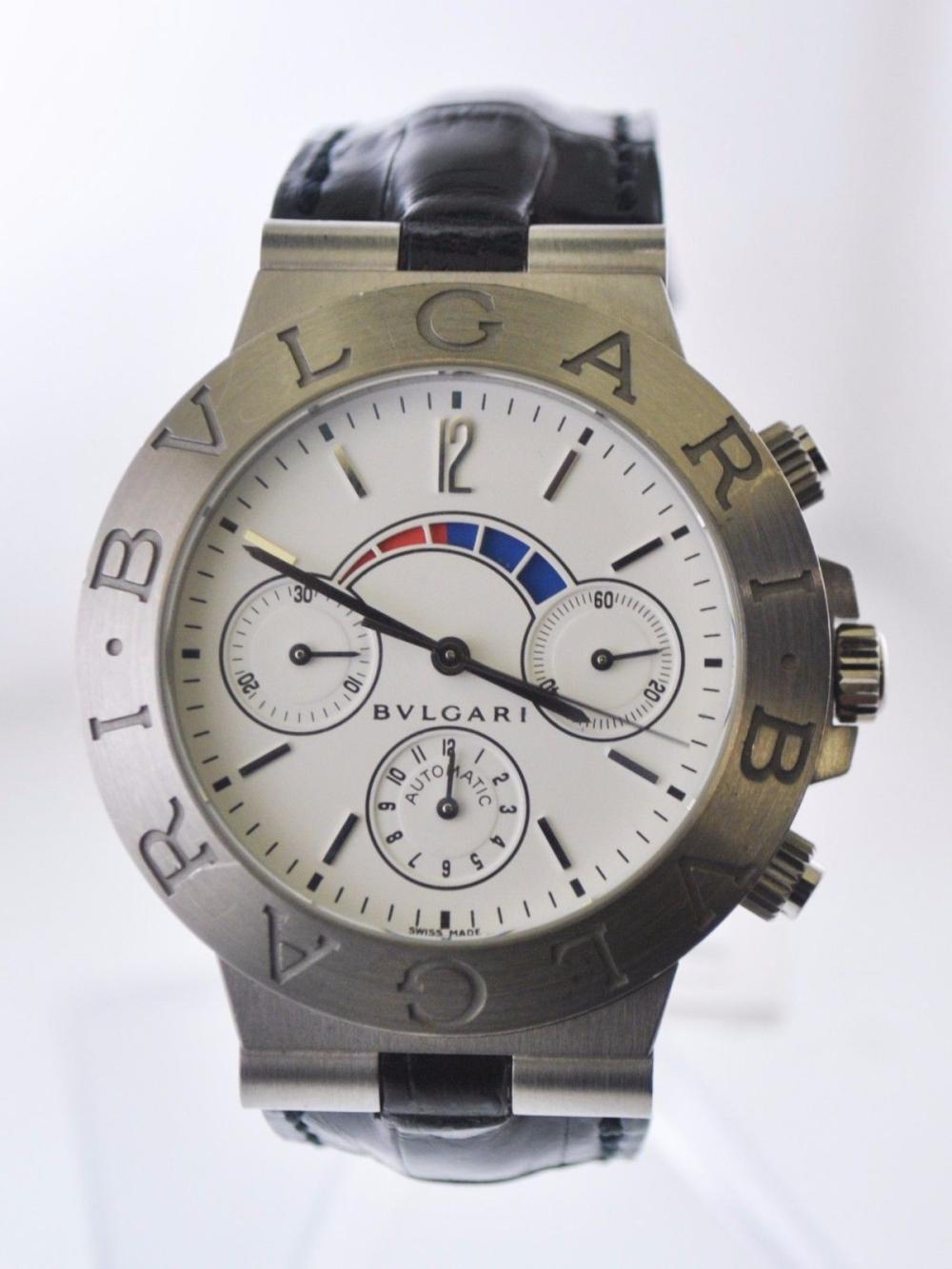 710636e3309 Bvlgari Bulgari Diagono Regatta Chronograph Automatic Watch