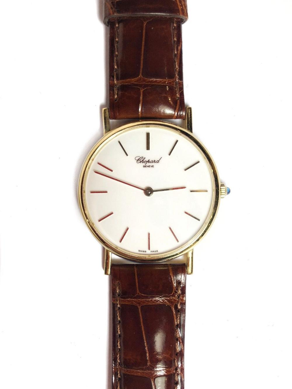 a0fd65920b160 Chopard Classic 18K/750 YG Men's Watch #1091,w/Orig Box,Guar