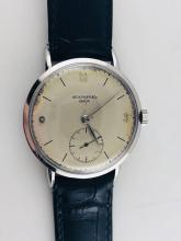 b0f2d90ba 1940s Vintage, Patek Philippe #1513 Calatrava Men's SS Watch, Value$60k,