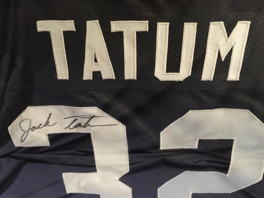 the latest b0c73 01a57 Jack Tatum The Assassin #32 Jersey Shirt Football NFL Signed 1970's $2K  VALUE