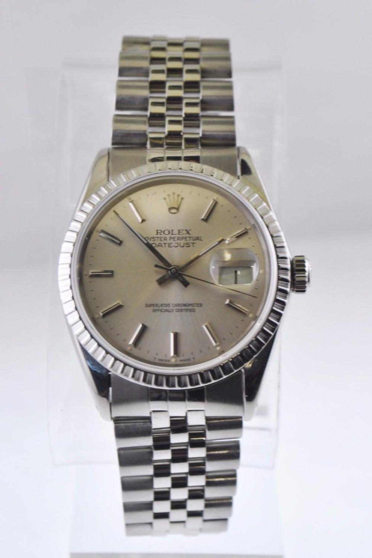 Rolex Oyster Perpetual Datejust Wristwatch Jubilee Bracelet