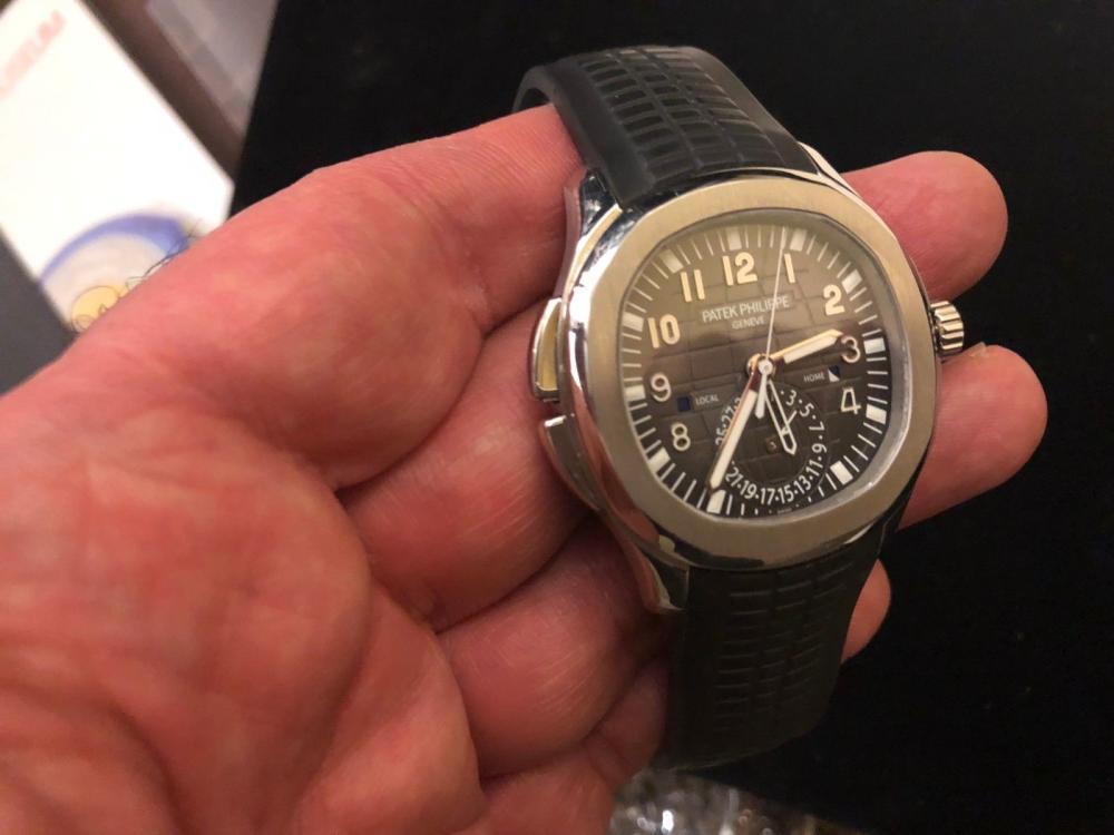 Patek Philippe 5164a Aquanaut Dualtime Orig Box Pprs Complet