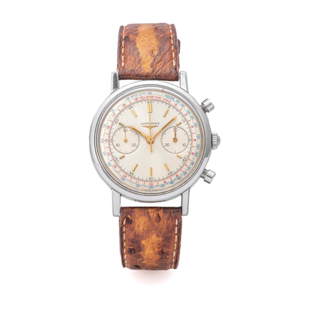 LONGINES, REF. 7413, 30CH, FLYBACK CHRONOGRAPH, STEEL