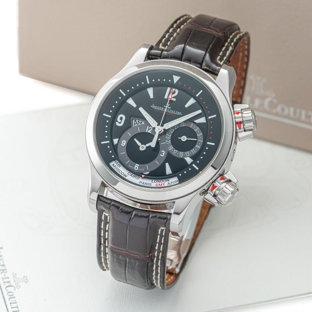 JAEGER LECOULTRE, REF. 146.8.83, MASTER COMPRESSOR GEOGRAPHIC, STEEL