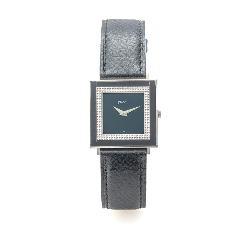 PIAGET, REF. 9356, ONYX DIAL AND BEZEL, WHITE GOLD