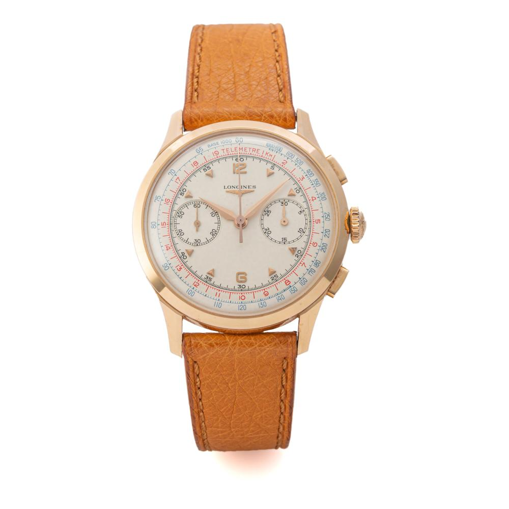 LONGINES, REF. 5967, 30 CH, PINK GOLD
