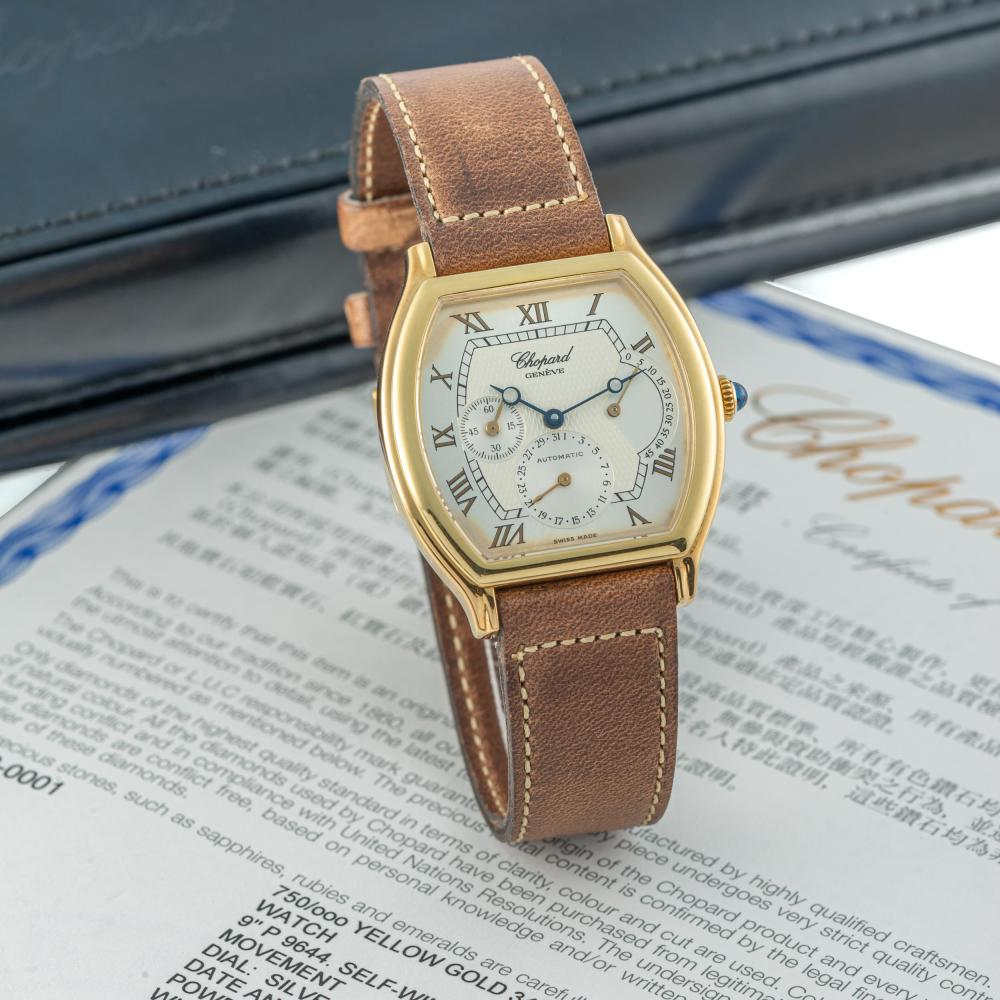 """CHOPARD - REF. 162248-0001-YLG, DATE, POWERRESERVE; 18K YELLOW GOLD (""""NEW OLD STOCK"""")"""