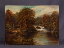 Ellie Wilson, Oil on Canvas of