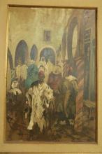Monaco Oil on Canvas, Signed