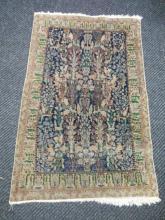 Nain Handmade Carpet w/ Silk Highlight