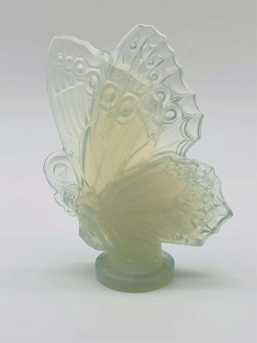Vintage Sabino Glass Butterfly