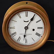 Schaeffer & Budenberg Ship Clock