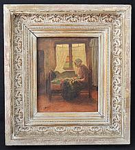 Signed Joseph Van Genegen O/C Painting