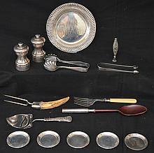 Lot Of 17 Antique Sterling Accessories