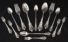 Wallace Grande Baroque Sterling Silver Flatware