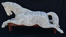 Antique Fiberglass Country Store Horse Sign