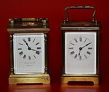 2 Vintage Carriage Clocks