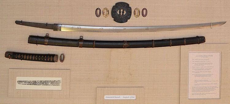 14th Century Japanese Samurai Sword