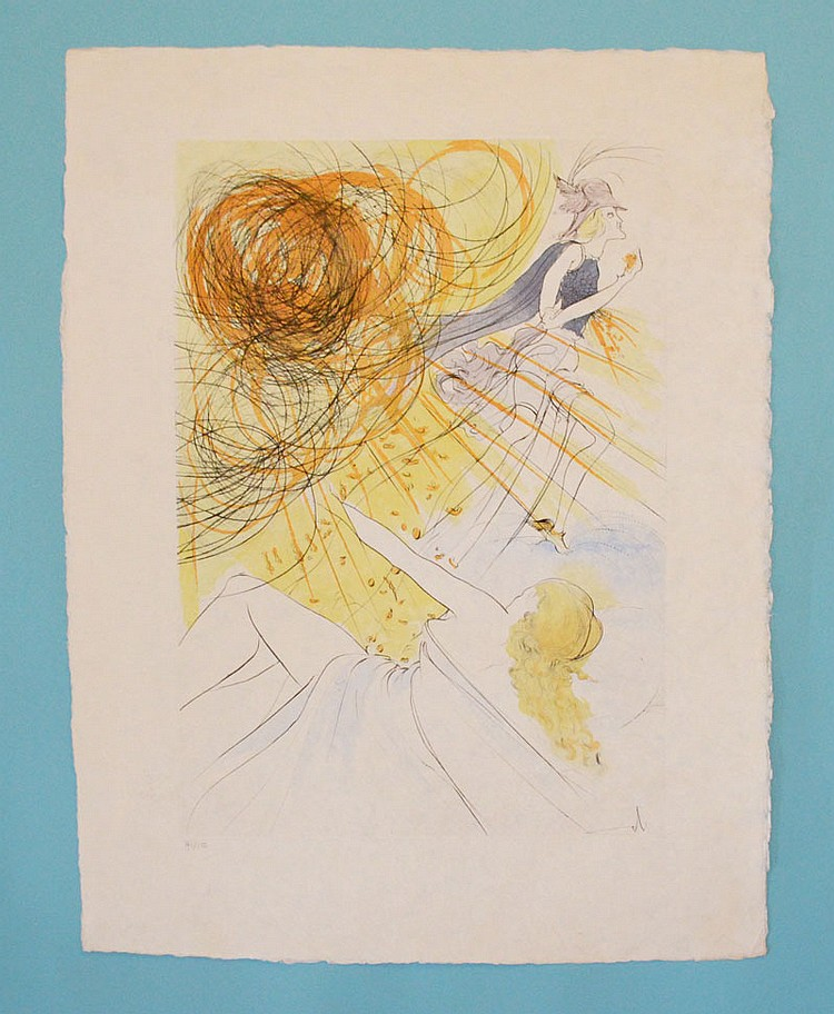 Signed & Numbered Mercurius By S. Dali