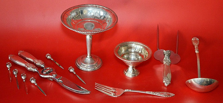 Generous Grouping of Sterling Silver Accessories