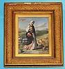 John Rogers Herbert Study Oil Painting of Mary Magdalene