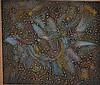 Signed 1969 Charles Seliger Abstract Shell Painting