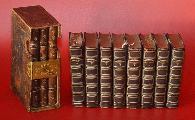 Antique Altman Ledgers & Shakespeare Books
