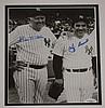 Bill Dickey & Yogi Berra Framed Signed Photograph