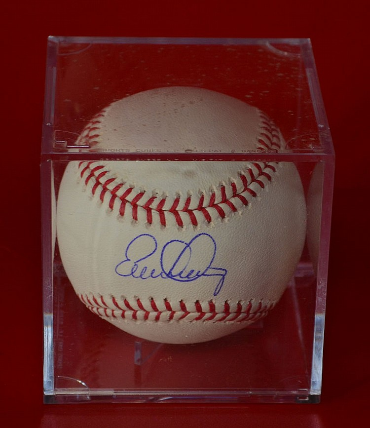 Evan Longoria Signed NY Yankees Baseball