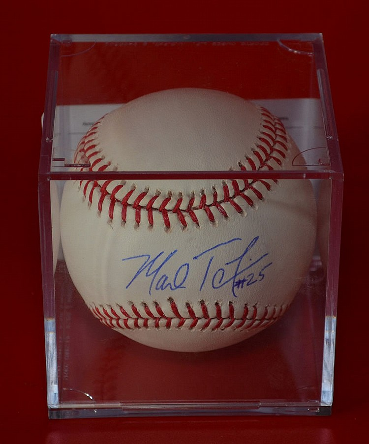 Mark Teixeira Signed NY Yankees Baseball