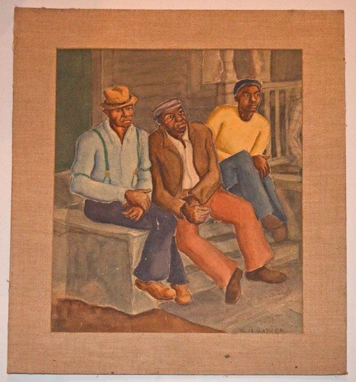 African American Watercolor