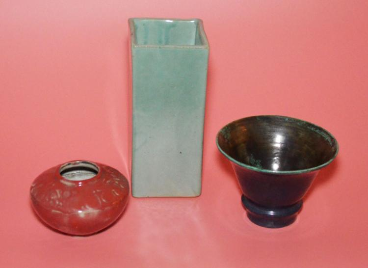 3 Pieces of Vintage Chinese And Continental Pottery