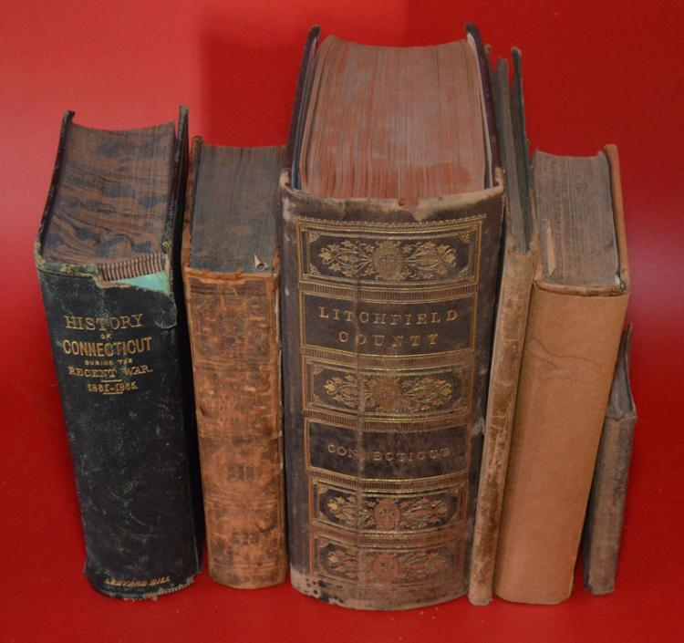 6 Antique Books