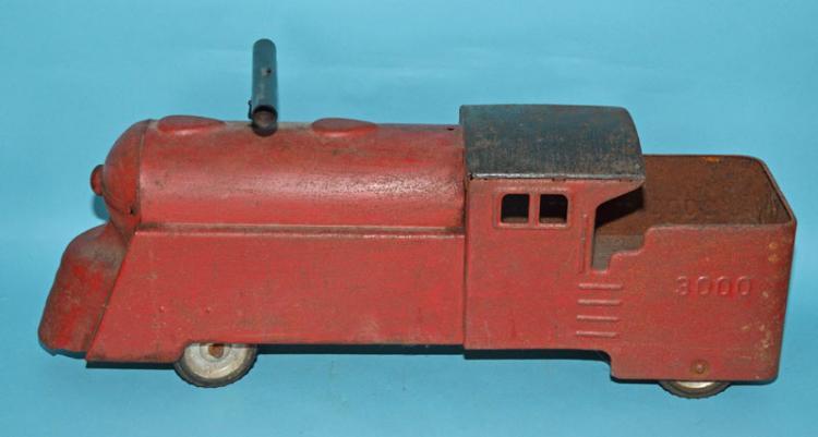 Marx 3000 Pressed Steel Riding Train Toy