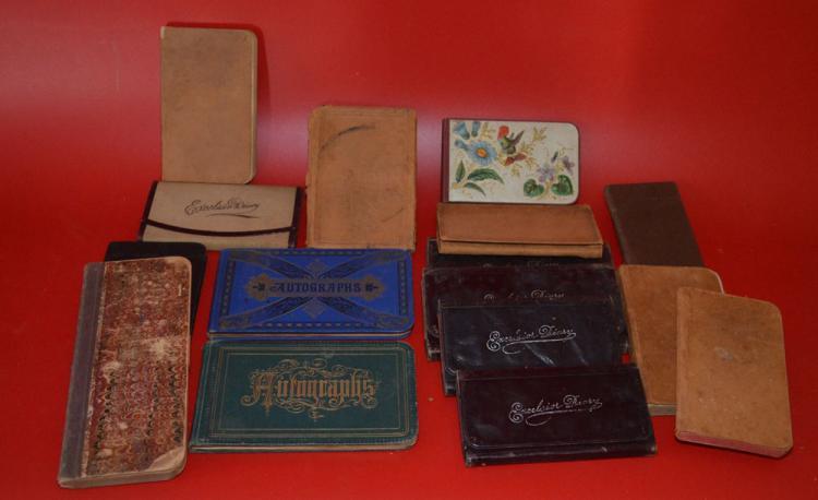 Collection of Antique Autograph Books