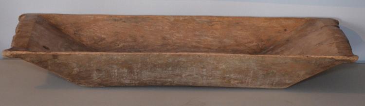Antique Primitive Wooden Trough