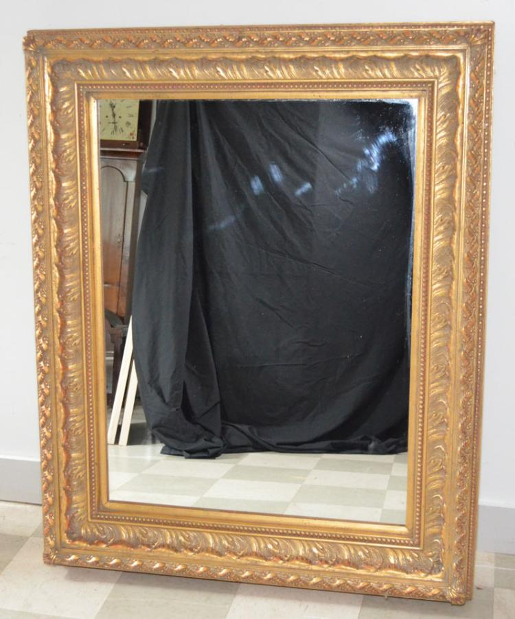 Large gilt picture frame mirror for Large portrait mirror