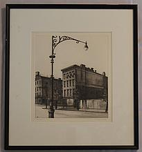 Landeck Signed Drypoint York St Tenements