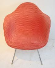 Vintage Herman Miller Eames Chair w Girard Upholstry
