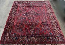 Large Sarouk Oriental Rug